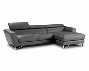 J&M Mini Italian Leather Sectional Sparta JM-SKU1769112
