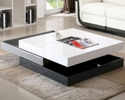 J&M Modern Rotary Coffee Table CW01 JM-SKU17772
