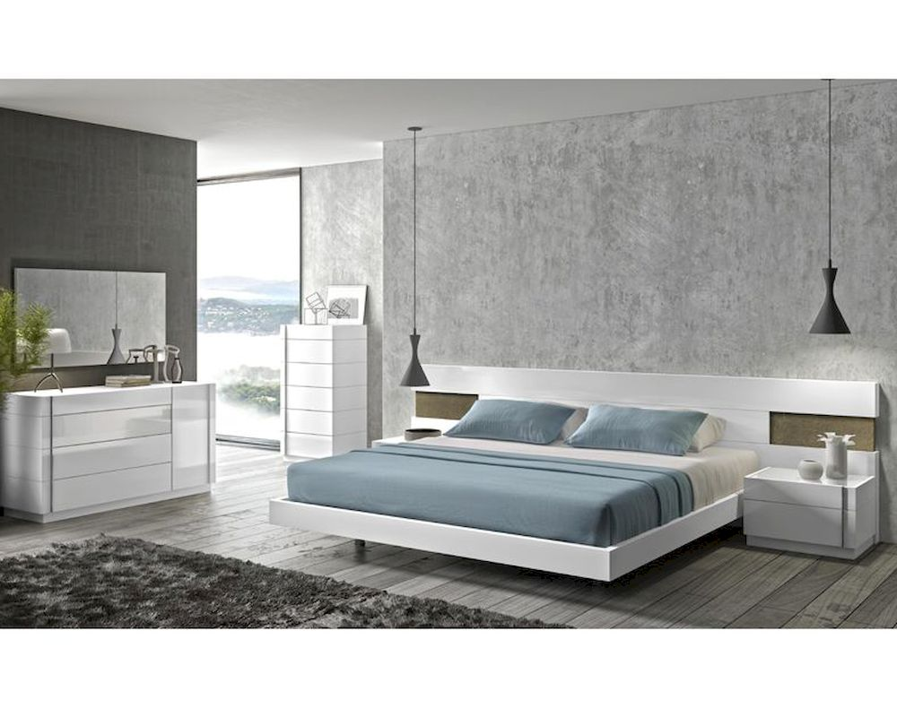 J M Premium Bedroom Set Amora Jm Sku17869set