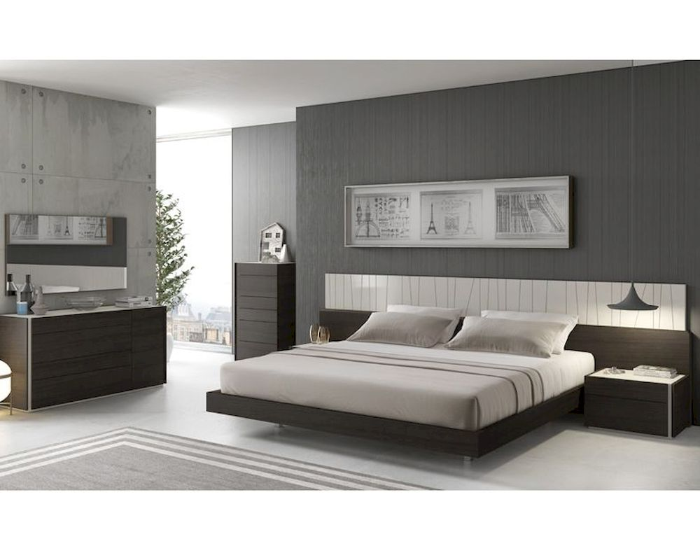 J m premium bedroom set porto jm sku17867set for M s bedroom furniture