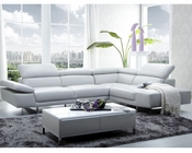 J&M Premium Italian Leather Sectional 1717 JM-SKU178571