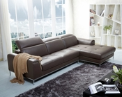 J&M Premium Italian Leather Sectional 1727 JM-SKU178581