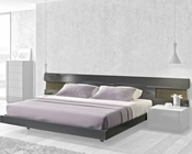 J&M Queen/King Platform Bed Braga JM-SKU178671BED