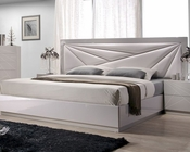 J&M Queen/King Platform Bed Florence JM-SKU17852BED