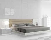 J&M Queen/King Platform Bed Lisbon JM-SKU17871BED