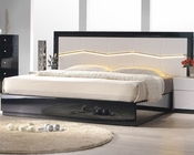 J&M Queen/King Platform Bed Turin JM-SKU17854BED