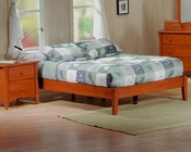 J&M Twin/Full/Queen/King Platform Bed Astoria JM-SKU17100BED