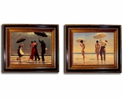 Jack Vettriano Beaches 2pc Set