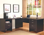 Jamesburg Contemporary Writing Desk with Return CO80078
