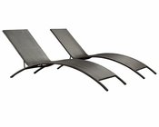 Jaunt Patio Chaise in Espresso by Modway MY-EEI969EX