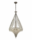 ELK Jausten 5 Light Chandelier in Antique Bronze EK-11783-5