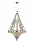 ELK Jausten 7 Light Chandelier in Antique Bronze EK-11784-7