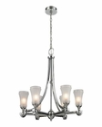 ELK Jayden 6 Light Chandelier in Polished Chrome EK-11686-6