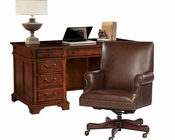 Junior Office Set in Weathered Cherry by Hekman HE-79280-SET
