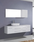 Justine White 59in Single Bathroom Set by Virtu USA VU-UM-3050-WH
