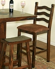 Ladderback Bar Stool SU-1859DC (Set of 2)