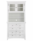 Lateral File and Hutch Kentwood by Magnussen MG-H1475LH
