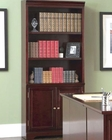 Lawrenceville Open Bookcase with Storage Base Cabinet CO800575
