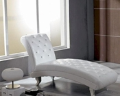 Leather Chaise in Modern Style 44CH001