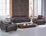 Leather Contemporary Sofa Set 44LBO3919