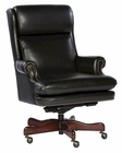 Leather Executive Chair in Black Finish by Hekman HE-79252B