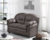 Leather Living Room Loveseat 33SS293