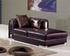 Leather Modern Style Chaise 33SS373