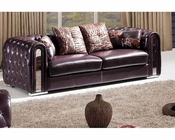 Leather Modern Style Sofa 33SS372