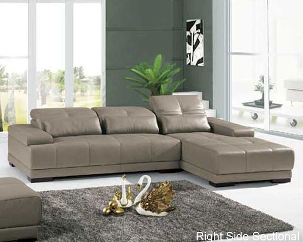 Leather Sectional Living Room Set 33ls91