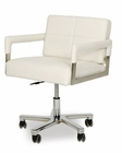 Leatherette Office Chair in Contemporary Style 44F108