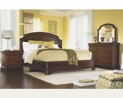 Legacy Furniture 4 PC Platform Bedroom Set Evolution LY9180SET