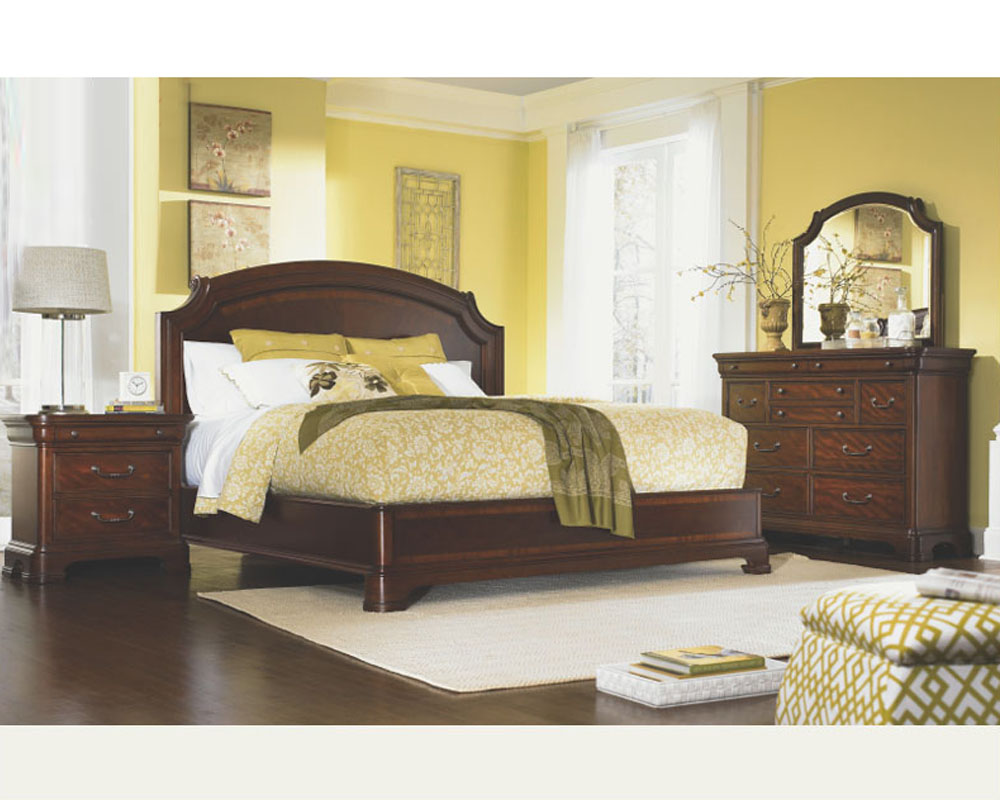 Legacy furniture 4 pc platform bedroom set evolution ly9180set - Legacy evolution bedroom furniture ...