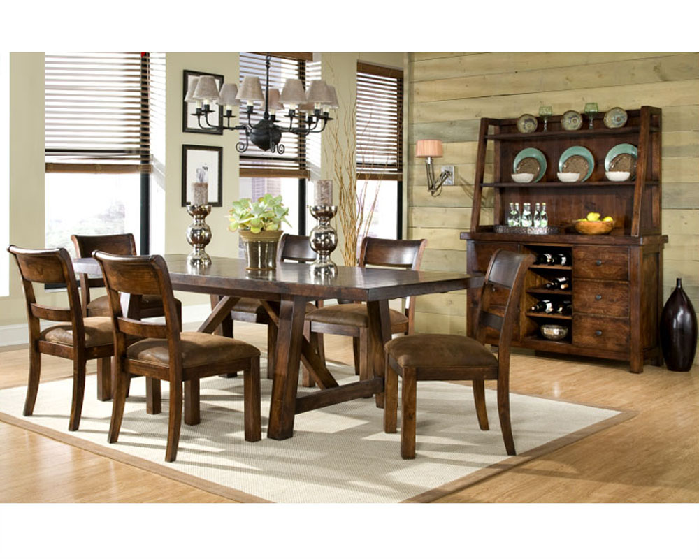 Legacy Furniture Dining Set Woodland Ridge Ly9440set