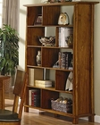 Lesage Wood Bookcase with Shelves in Varying Sizes CO800844