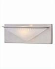 Lite Source 1 Lite Wall Lamp PS w/ Glass Shade 50W LS-16331PS-FRO