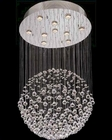 Lite Source 10 Lite Crystal Ceiling Lamp with Egypt Crystals LS-19582