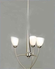 Lite Source 3 Lite Ceiling Lamp Frost in 60W LS-1067FROST