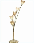 Lite Source 5 Lite Flower Table Lamp Bronze Light AmberLS-3945BRZ