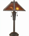 Lite Source Antique Bronze Mica Shade Table Lamp LS-3543MICA