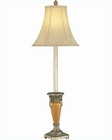 Lite Source Buffet Lamp Ant. Gold w/ Ceramic Body Table Lamp LS-C4994