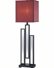 Lite Source Buffet Lamp Mirror Body w/ Specchio Table Lamp LS-22162