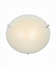 Lite Source Ceiling Lamp Flush Mount PS w/ Frost Glass LS-5338PS-FRO
