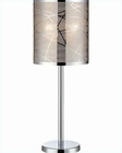 Lite Source Chrome with Metal Shade Lorenza Table Lamp LS-22107