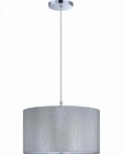 Lite Source Chrome w/ Silver Silvain Pendant Lamp LS-19569C-SIL
