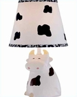 Lite Source Cow Ceramic Body Moo Table Lamp LS-IK-6094