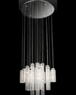 Lite Source Crystal Ceiling Lamp Chrome Crystals Type LS-EL-10082