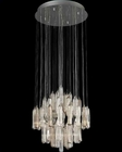 Lite Source Crystal Ceiling Lamp Chrome Crystals Type LS-EL-10083