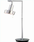 Lite Source Desk Lamp in Aluminum Satin Chrome Hangman LS-2536ALU-SC