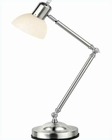 Lite Source Desk Lamp PS Frosted Glass Shade LS-2754PS-FRO