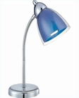 Lite Source Desk Task Lamp Blue Selika LS-21614C-BLU